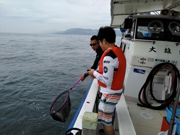 2018/6/23 釣り部活動 真鯛釣り in 明石海峡