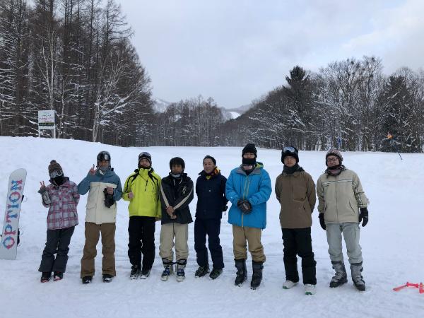 2020/1/11~13 雪部スキー旅行 in 富良野