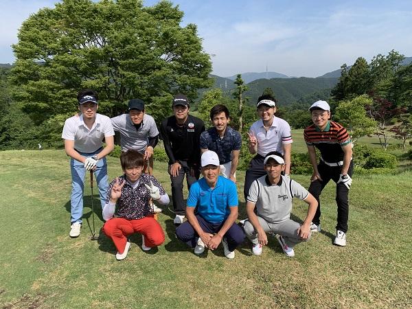 2019/5/25~26 社員旅行in 岐阜本巣カントリークラブ(ゴルフ組)